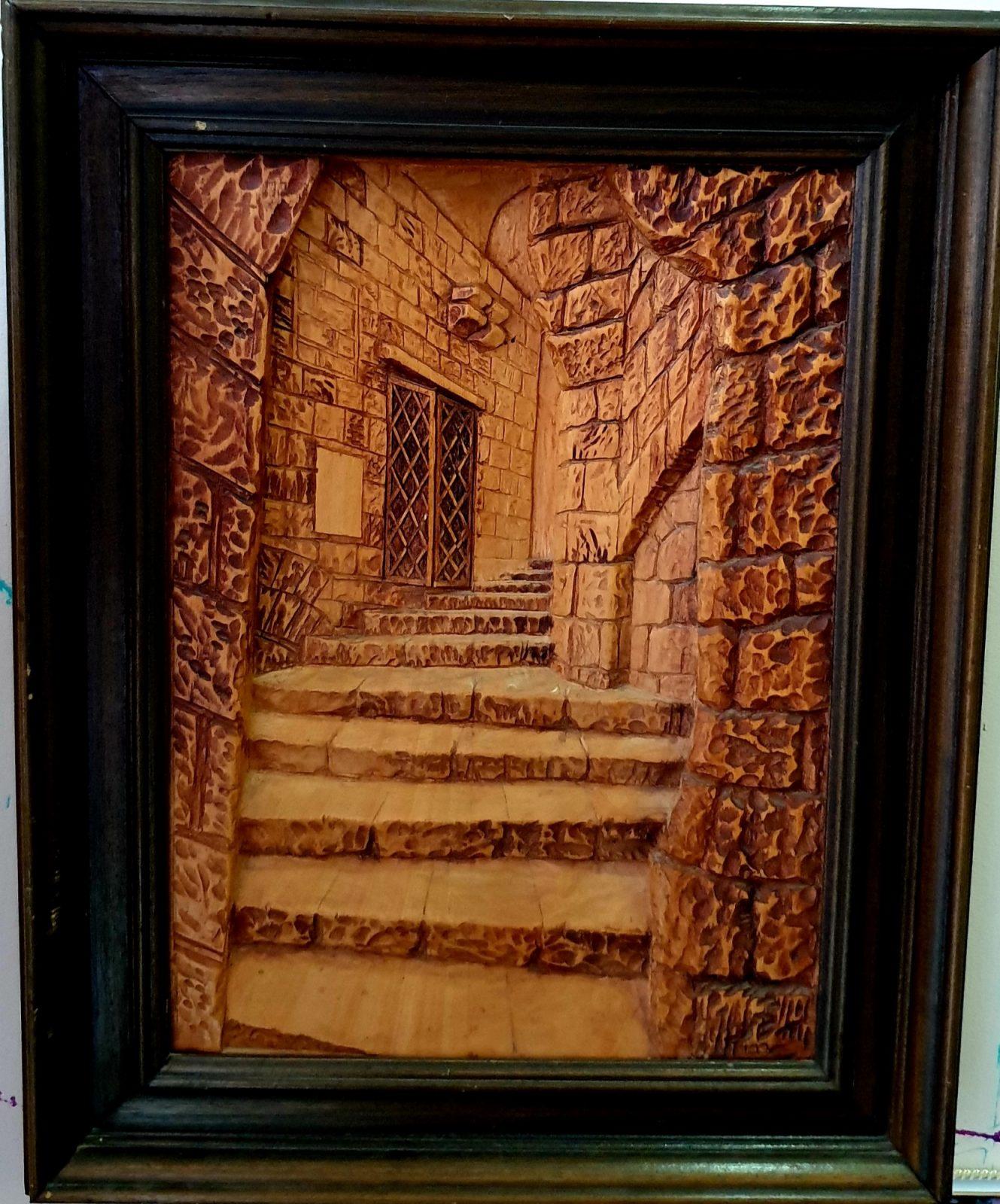 תערוכת יחיד בגלריית יוניטי- ארט מארק ראבוי גלף העץ