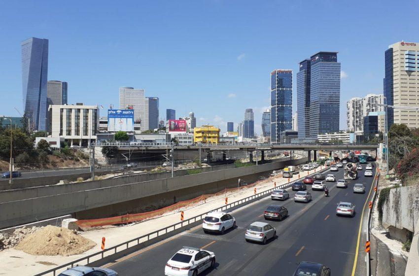 בקרוב: נתיבי אגרה מהירים לאורך נתיבי איילון וכביש 2