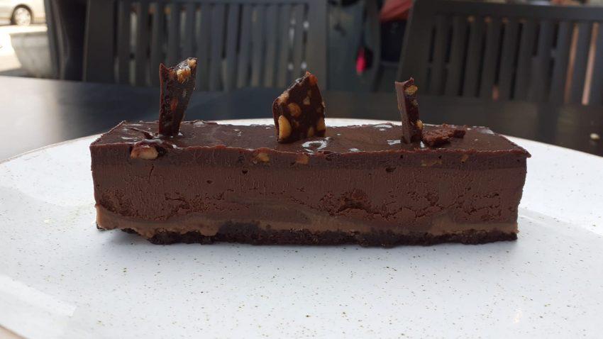 עוגת שוקולד. צילום בן ימין