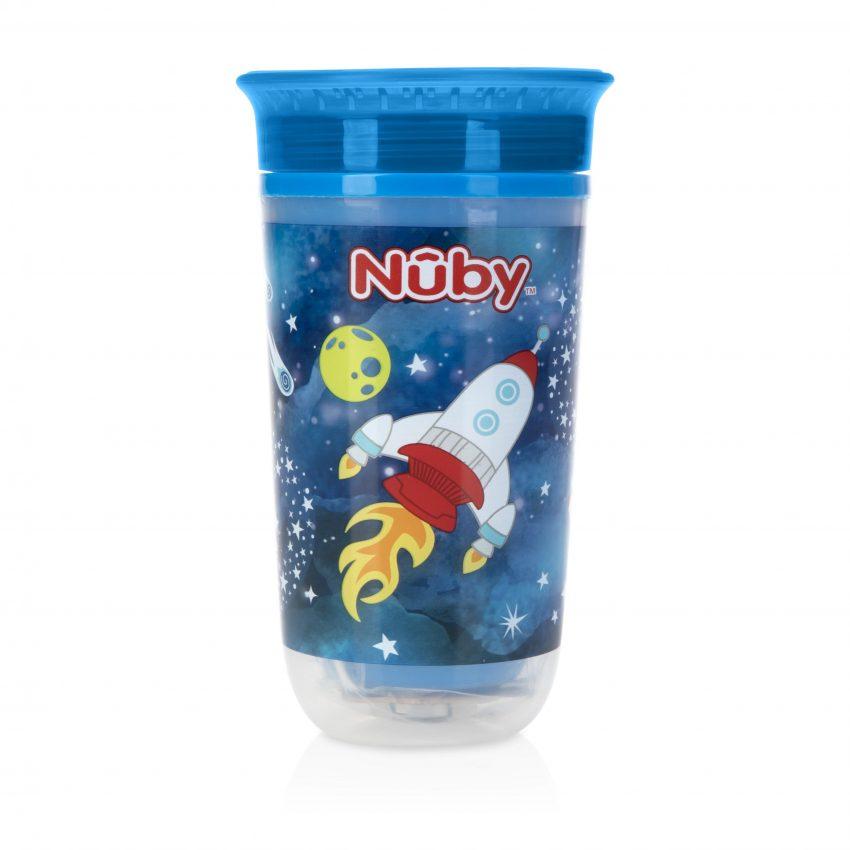 כוס הפלא עם דופן כפולה ואורות מהבהבים, מבית NUBY, להשיג ברשת שילב, 59.90 שח, יחצ חול