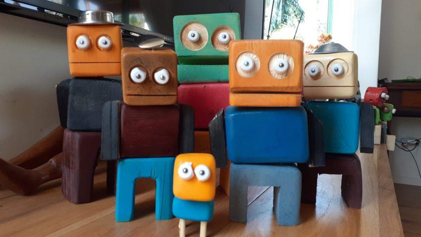 הצעצועים של אמיר כץ. צילום בן חן